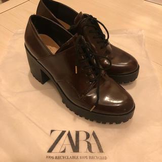 ZARA - ZARA ❤︎ ヒールローファー