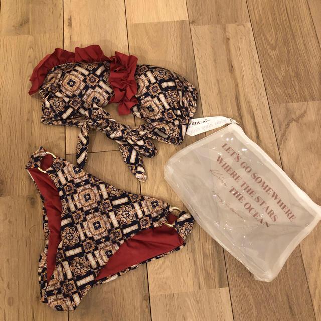eimy istoire(エイミーイストワール)のeimy istoire ビキニ セット 完売商品 新品未使用 レディースの水着/浴衣(水着)の商品写真