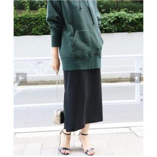 IENA - IENA ダブルフェイスサテンカラースカート