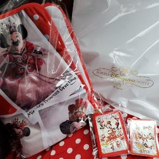 Disney - ベリーベリーミニー 宿泊者限定ブランケットセット