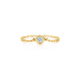 ティファニー(Tiffany & Co.)のティファニー バイザヤード リング YG(リング(指輪))
