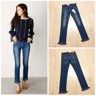moussy - 新品 MOUSSY NYLON fit Fringe Straight Slim