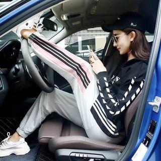 GYDA - adidas EMODA gyda好きに!! ラインパンツ ジャージ スウェット