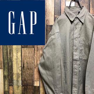 GAP - 【激レア】オールドギャップGAP☆ポケット付きチノシャツ 90s