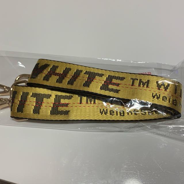 OFF-WHITE(オフホワイト)のoff-whiteロゴ☆バッグストラップ  メンズのバッグ(ショルダーバッグ)の商品写真