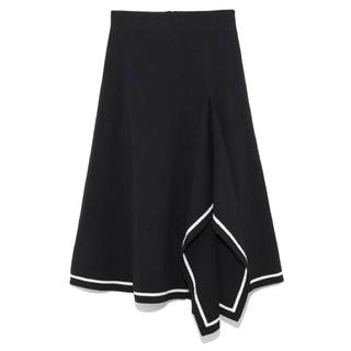 Mila Owen - ミラオーウェン♡デザインヘムニットスカート