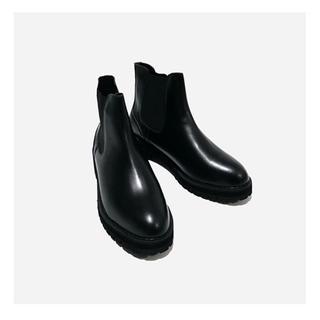 Dr.Martens - 【新品未使用】ブラックサイドゴアブーツ 厚底 ※期間限定値下げ31まで