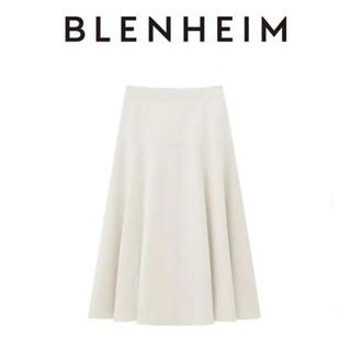エムプルミエ(M-premier)の-XS-新品m-i-d BLENHEIM フレアロングスカート 25,300円(ロングスカート)