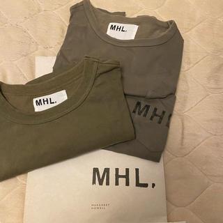 マーガレットハウエル(MARGARET HOWELL)のMHL. マーガレットハウエル 半袖 Mサイズ 2点セット(Tシャツ/カットソー(半袖/袖なし))