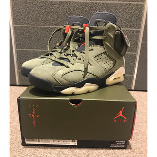 NIKE - NIKE AIR JORDAN 6 TRAVIS SCOTT US9.5