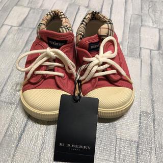 BURBERRY - 新品  ❁  バーバリー シューズ 靴  12.5㎝