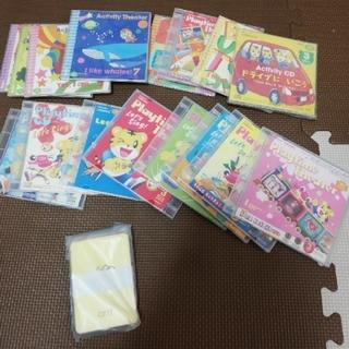 こどもちゃれんじイングリッシュ すてっぷ DVD6枚 CD1枚 1年分 おもちゃ