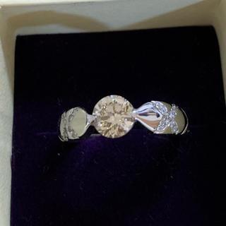 K18 ダイヤモンド 1.00ct リング (リング(指輪))
