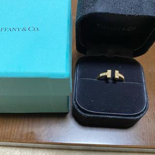 ティファニー(Tiffany & Co.)のティファニー Tリング ダイヤ イエローゴールド(リング(指輪))