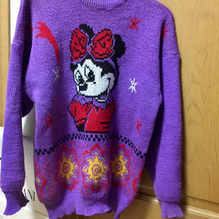 Disney - 90s ミニーちゃん セーター