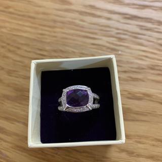 K18 アメジスト  ダイヤモンド リング (リング(指輪))