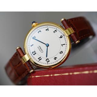 Cartier - 美品 カルティエ マスト ヴァンドーム アラビア LM Cartier