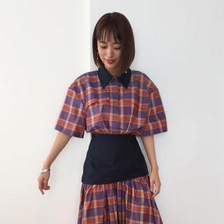 LE CIEL BLEU - 即完売 定価8.2万 IRENEドレスCLANE drawer TOGA