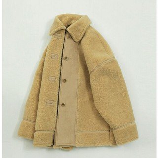 TODAYFUL - 【美品】完売'19TODAYFUL Bonding Boa Coat クリーム