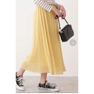 ナチュラルビューティーベーシック(NATURAL BEAUTY BASIC)のプリーツスカート (ロングスカート)