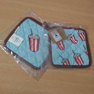 ニコアンド(niko and...)の新品ニコアンド鍋敷き2枚セット(収納/キッチン雑貨)