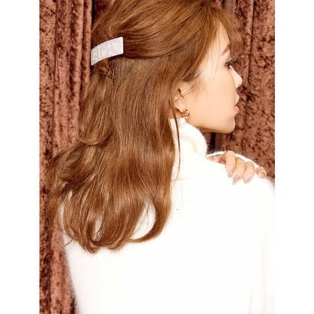 eimy istoire(エイミーイストワール)のエイミーイストワール  EIMYプレートバレッタ レディースのヘアアクセサリー(バレッタ/ヘアクリップ)の商品写真
