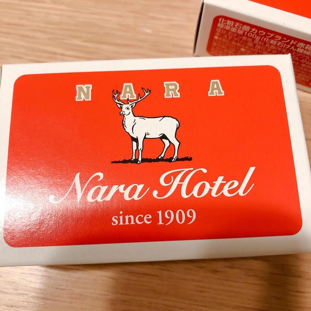 牛乳石鹸(ギュウニュウセッケン)の限定!奈良version牛乳石鹸 コスメ/美容のボディケア(ボディソープ/石鹸)の商品写真