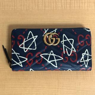 Gucci - ⭐️新品・未使用⭐️GUCCI グッチ ゴースト GGマーモント ラウンド長財布