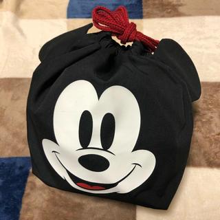 Disney - ミッキー 袋 巾着 ベルメゾン ディズニー