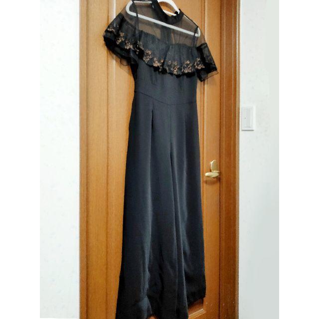 Lily Brown(リリーブラウン)の新品★Lily Brown チュール刺繍ロンパース オールインワン レディースのパンツ(オールインワン)の商品写真