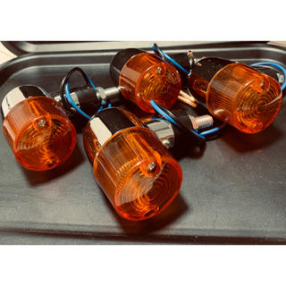 ヨーロピアンウインカー 丸型ミニウインカー 旧車 4ミニ オレンジ