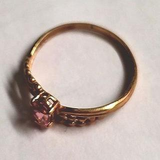 ピンクトルマリンベビーリング(リング(指輪))