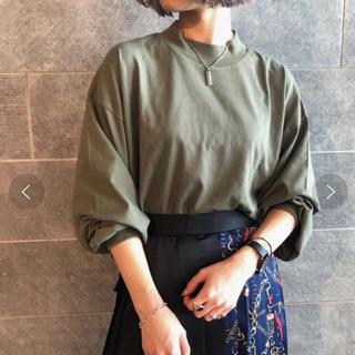 ページボーイ(PAGEBOY)のページボーイ page boy ハイネックボリュームロンT カーキ(Tシャツ(長袖/七分))