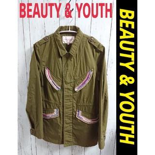 ビューティアンドユースユナイテッドアローズ(BEAUTY&YOUTH UNITED ARROWS)のBEAUTY & YOUTH ユナイテッドアローズ 個性的 ミリタリージャケット(ミリタリージャケット)