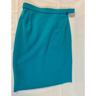 クリスチャンディオール(Christian Dior)のクリスチャンディオール ニットスカート極美品(ひざ丈スカート)