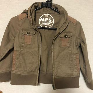 エムピーエス(MPS)のMPSミリタリージャケット ライトオン キッズアウター110男の子(ジャケット/上着)