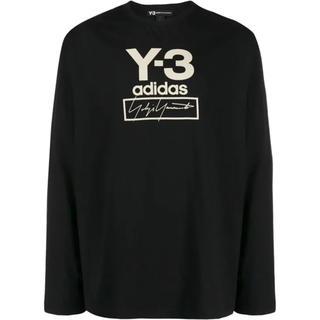 Y-3 - 【新品】Y-3 ロゴ ロング Tシャツ ブラック M