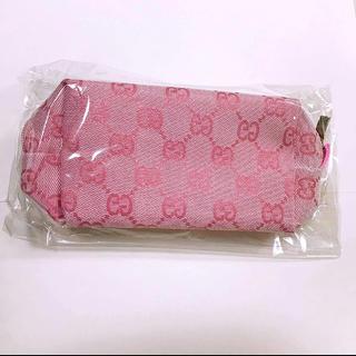 Gucci - 新品 未使用 グッチ ポーチ ピンク