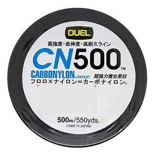 イエロー2号デュエル(DUEL) カーボナイロンライン CN500 500m(釣り糸/ライン)