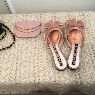 ROCHAS - ROCHAS ribbon shoes.