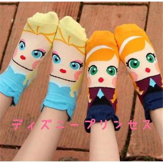 Disney - アナ雪 ディズニープリンセス ソックス 靴下 3セット