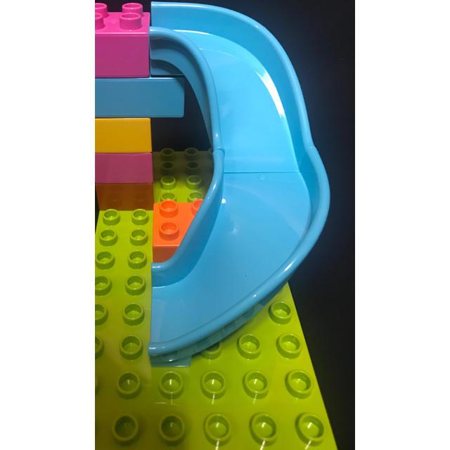 Lego(レゴ)のデュプロ  すべり台 カーブ 2piece キッズ/ベビー/マタニティのおもちゃ(積み木/ブロック)の商品写真