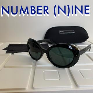 ナンバーナイン(NUMBER (N)INE)のナンバーナイン NUMBER (N)INE カートサングラス one ブラック (サングラス/メガネ)