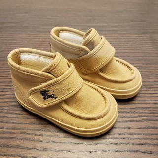 BURBERRY - 【美品】バーバリー 靴 革ブーツ 12センチ