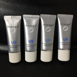 アルージェ(Arouge)のアルージェ モイストビューティーアップ 4本 新品(化粧下地)