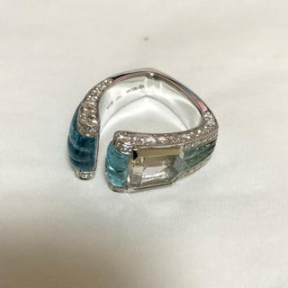 ポメラート(Pomellato)のスカヴィア 指輪 750WG(リング(指輪))