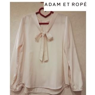 アダムエロぺ(Adam et Rope')の【ADAM ET ROPE'】ボウタイ付きブラウス(シャツ/ブラウス(長袖/七分))