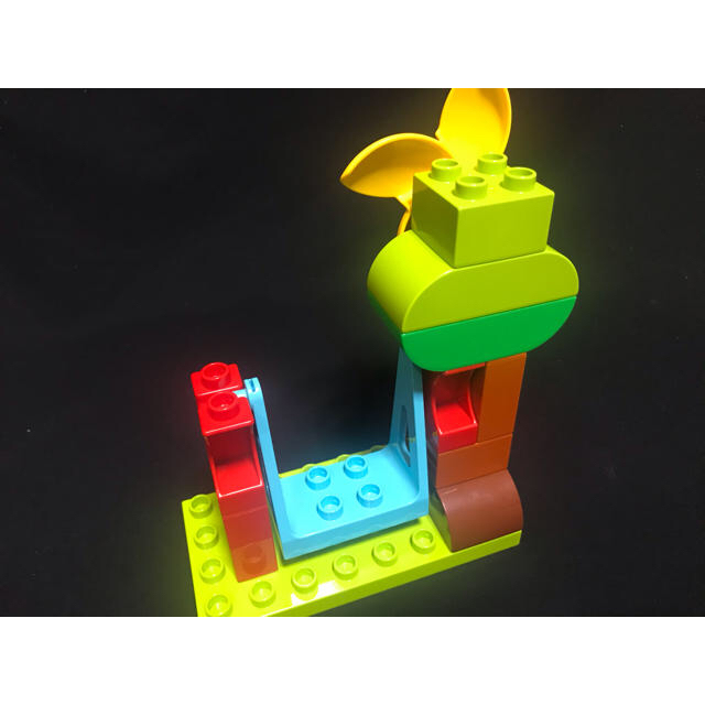 Lego(レゴ)のデュプロ  公園 ブランコ 風車セット キッズ/ベビー/マタニティのおもちゃ(積み木/ブロック)の商品写真