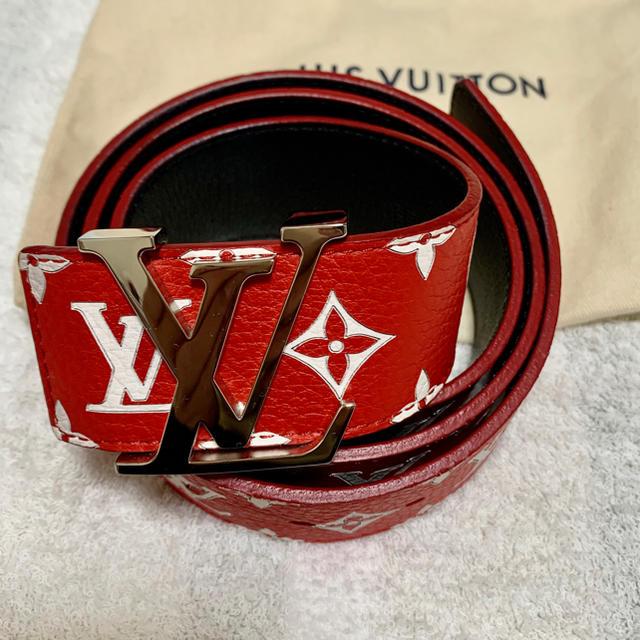 LOUIS VUITTON(ルイヴィトン)のシュプリーム ×ルイヴィトン ベルト メンズのファッション小物(ベルト)の商品写真