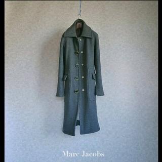MARC JACOBS - 上級 マークジェイコブス おしゃれモダンデザインコート Marc Jacobs